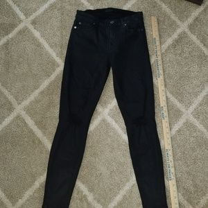 Seven black Jean's distressed